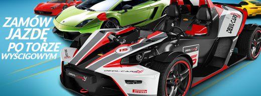DRITFGIFT - Prezent Marzeń - Zamów jazdę sportowym samochodem po torze wyścigowym