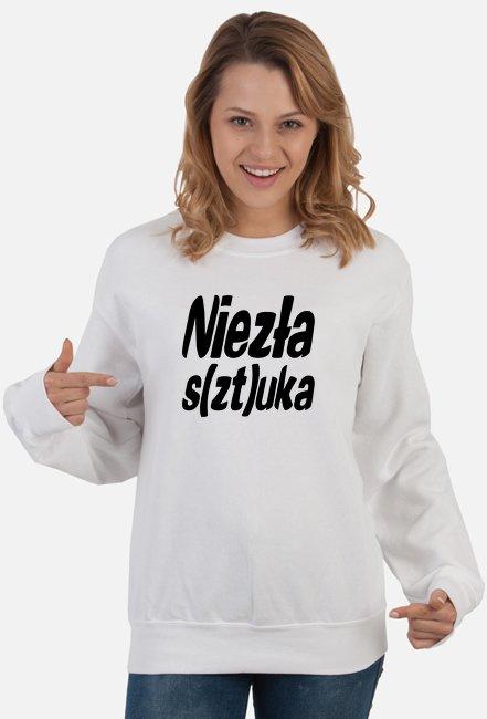 Niezła sztuka bluza damska z nadrukiem