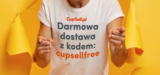 Darmowa dostawa koszulek z nadrukiem