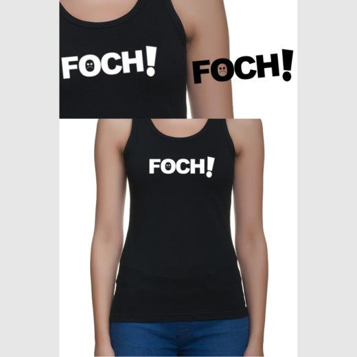 Foch! - bokserka damska z nadrukiem