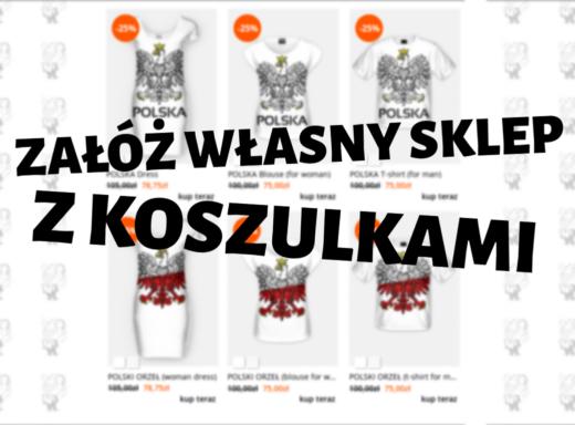 Otwórz swój własny sklep internetowy z koszulkami za darmo