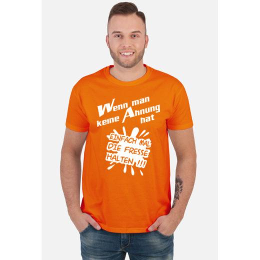 WMKAHEMDFH - Wenn man keine Ahnung hat, einfach mal die Fresse halten - koszulki, bluzy i gadżety z nadrukiem