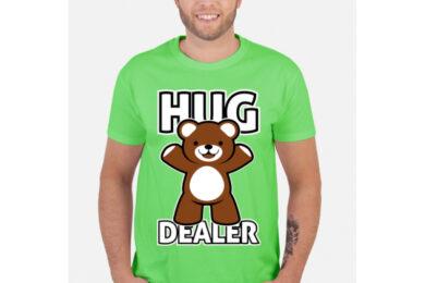 Dealer Koszulek - HUG DEALER - koszulka z nadrukiem