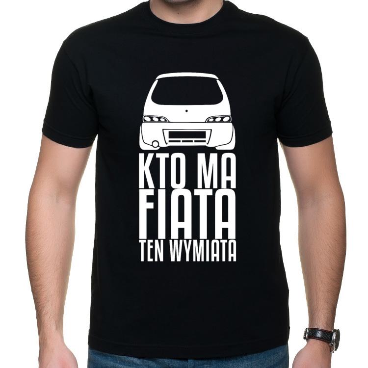 Seicento - Kto ma Fiata ten wymiata - koszulka z nadrukiem