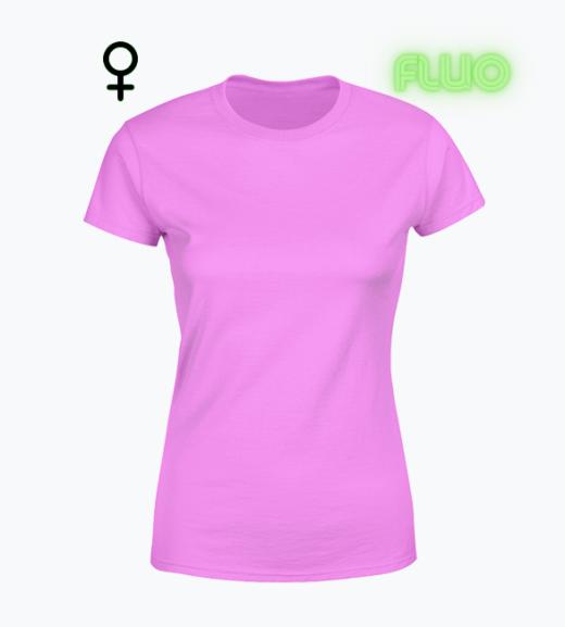 Koszulka z nadrukiem fluorescencyjnym
