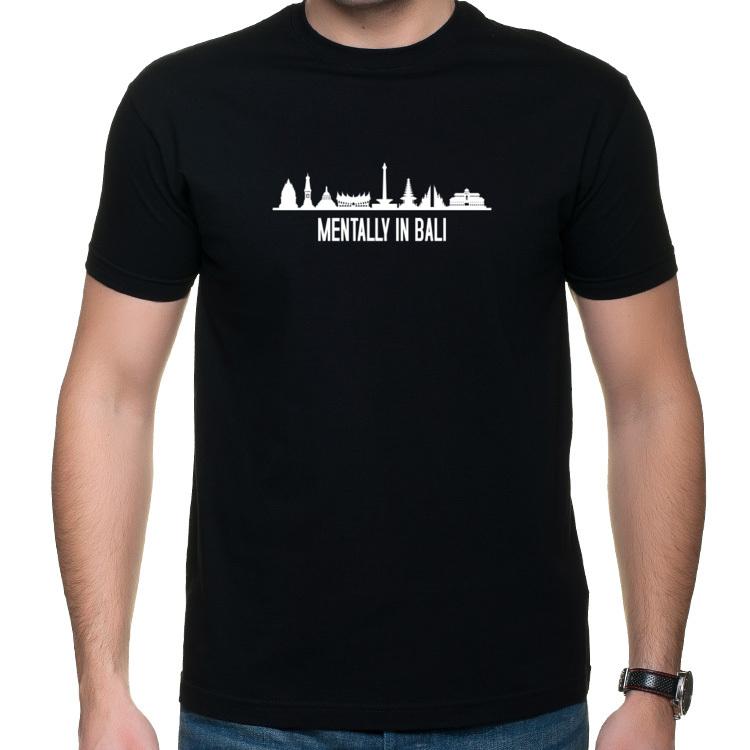 Mentally in Bali - koszulka z nadrukiem