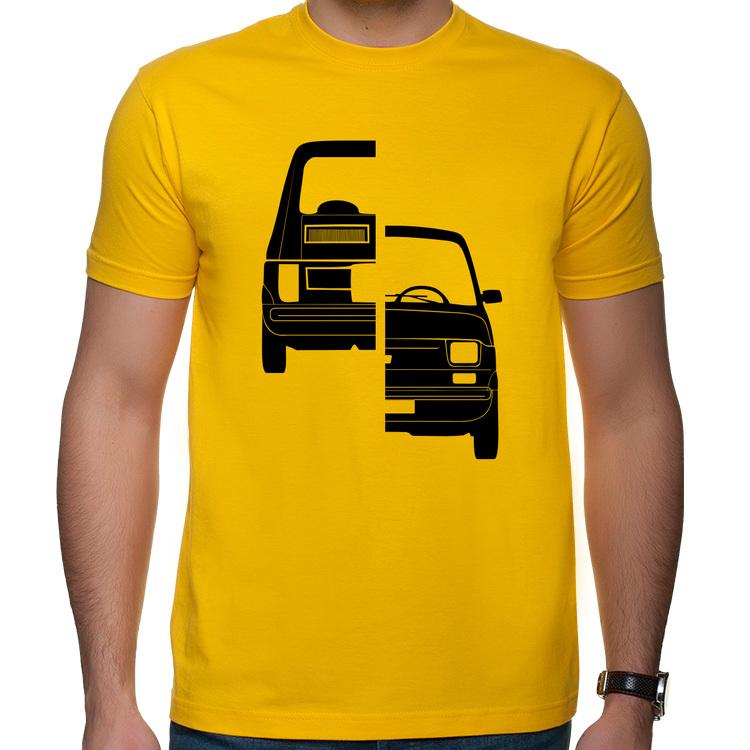 126p - Front N Back - t-shirt koszulka z nadrukiem Fiat