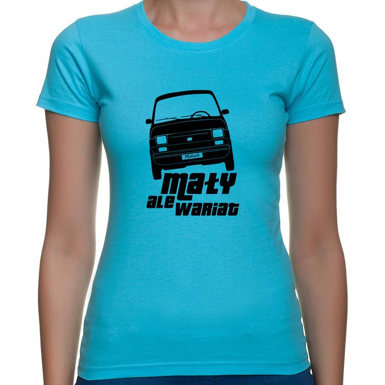 126p - Mały ale wariat - bluzka koszulka z nadrukiem Fiat