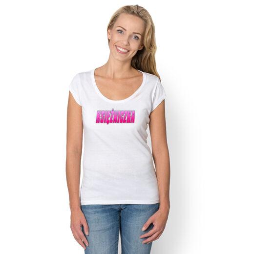 KSIĘŻNICZKA - nadruk na koszulkach