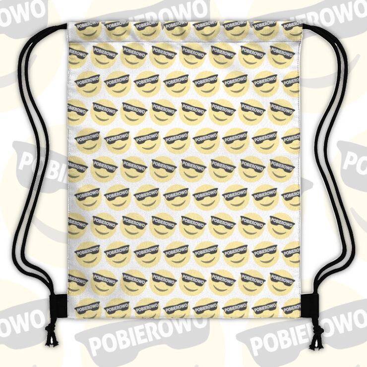 Pobierowo emoji pattern - Plecak workowy FULLPRINT